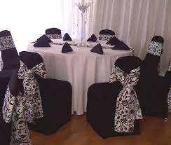 black chair covers black chair covers chairs with flair