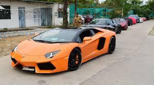 lamborghini car owners in chennai east coast road chennai impound 10 sports cars for racing