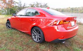 lexus is300 red 2016 lexus is200t review u2013 two holes away from greatness the