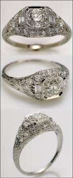 deco engagement ring best 25 deco engagement rings ideas on 1920s