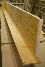 edge joining plywood to make a long cornice board strong cornice