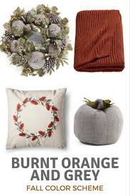 Fall Color Palette by Top 4 Fall Decor Color Schemes For Your Home Delightfully Noted