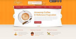 cafe free cafe restaurant template chocotemplates