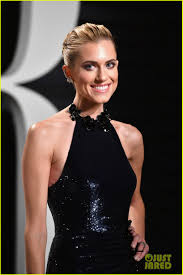 Kristin Chenoweth And Allison Williams by Rooney Mara Sarah Paulson U0026 Allison Williams Glam Up For Oscars