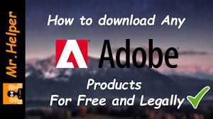 how to any adobe for free and legally dec 2016