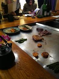 cuisiner au teppanyaki azabu restaurant japon japonais odeon gastronomie teppanyaki