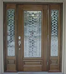 glass panels for front doors 65 best leaded glass front doors images on pinterest front doors