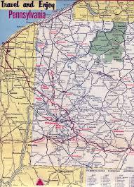 Pennsylvania Road Map by Western Pennsylvania Map Pennsylvania U2022 Mappery
