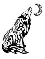tattoos tribal wolf tattoos designs