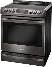 Lg Toaster Oven Lg Lse4613bd 30 Inch Black Stainless Steel Series Slide In