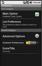 android preferences android amir android preferences