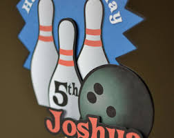 bowling cake toppers bowling cake topper etsy