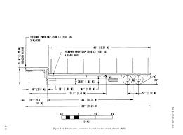 figure 2 14 side elevation semitrailer low bed wrecker 12 ton