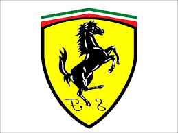 ferrari logo black and white vector best free ferrari logo vector drawing