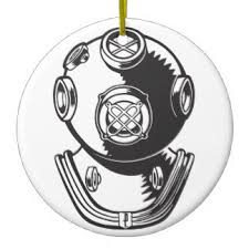 dive helmet ornaments u0026 keepsake ornaments zazzle