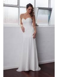 plain wedding dresses strapless plain wedding dresses