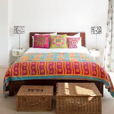 Best Colourful Bedrooms Images On Pinterest Home Bedrooms - Colourful bedroom ideas
