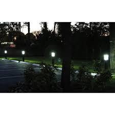 Solar Powered Bollard Lights - solar u0027nova u0027 bollard light