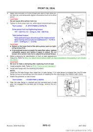 2005 nissan altima lug nut torque nissan 350z 2007 z33 rear final drive workshop manual
