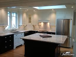 Two Tone Kitchen Cabinets Black And White 5 Two Tone Kitchens