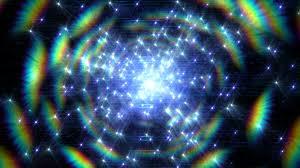 light swarm 0317 a cascade of shimmering sparkling lights loop