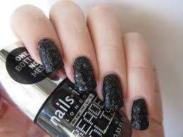 blue tape and nail tips nails inc beaded polish
