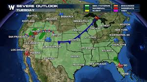 Cold Front Map Cooler Air Crashing In From Canada Weathernation