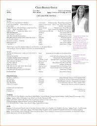 Managing Editor Resume 11 Actor Resume Template Job Resumes Word
