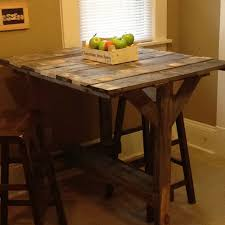 rectangle high top table pallet high top table elegant design