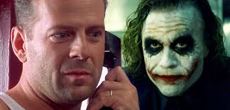 heath ledger u0027s joker calls john mcclane