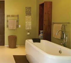 wall in bathroom canut wait to do this i guest decorating ideas