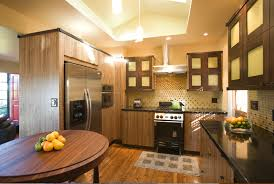 Exotic Wood Kitchen Cabinets Tag For Kitchen Floor Ideas With Oak Cabinets Nanilumi