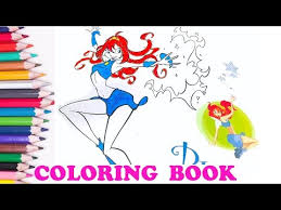 tom and jerry coloring books to mau hoc mau sac tieng anh cho be