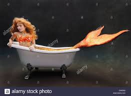 Victoria Albert Bathtubs Young Mermaid Laying Underwater In Her Victoria Albert Bathtub