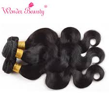 Natural Virgin Hair Extensions by Aliexpress Com Buy Malaysian Body Wave Human Hair Extensions