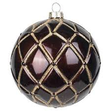 brown christmas ornaments u0026 tree decorations target
