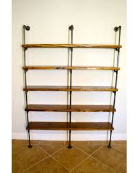here s a great price on industrial pipe bookshelves pipe shelving
