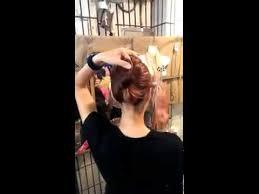 tutorial sirkam rambut panjang cara menata rambut praktis cepat youtube