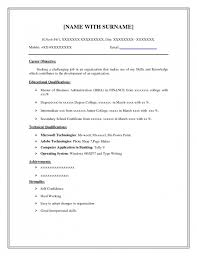 Free Resumes Online Download by Free Easy Resume Templates Basic Resume Template Word Format Free