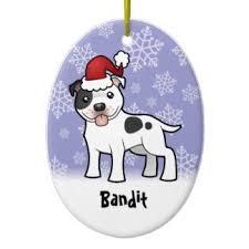 staffordshire bull terrier ornaments keepsake ornaments zazzle