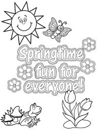 spring coloring sheets fun ideas oriental trading