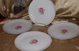 imperial china 6702 lot set of 4 imperial chic salad plates china japan