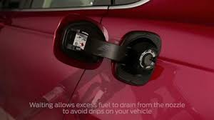 ford fusion gas easy fuel capless fuel filler vehicle features official