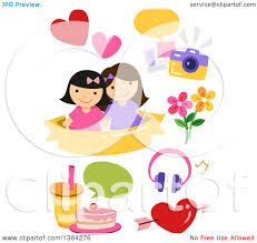 Best Flower Food Clipart Of Best Friends With Picture Food And Flower Design