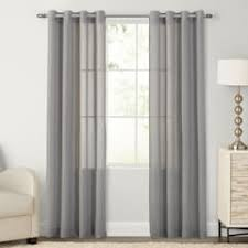 Grey Linen Curtains Grey Linen Curtains Drapes Window Treatments Kohl S