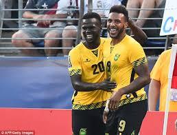 Giles Barnes Haiti 0 1 Jamaica Former Derby Attacker Giles Barnes Grabs Only