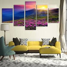 hanging home decor huge modern abstract canvas print painting picture wall mural