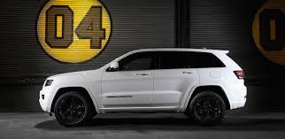 white jeep cherokee black rims jeep cherokee grand cherokee blackhawk specials launched photos