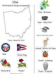 official state of ohio symbols ohio map black white ohio becomes