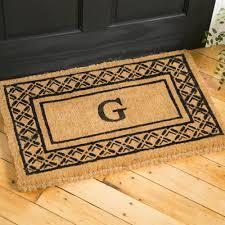 tips personalized your monogrammed doormat for indoor and outdoor